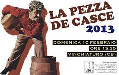 Giochi di Carnevale a Vinchiaturo con la Pezza De Casce 2013 | Molisiamo