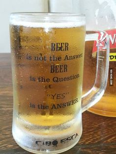 say yes to beer