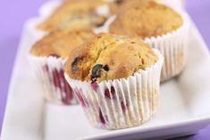 Recette - Muffins fruits confits et compote de pommes sans oeufs ni lait | 750g