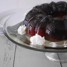 Mixed Berry and Hibiscus Aspic