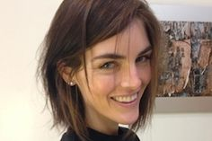Hilary Rhoda Opts for a Chop