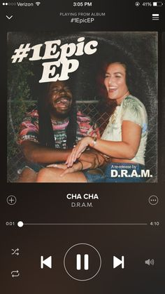 """""""CHA CHA"""" by D.R.A.M #NowSpinning"""