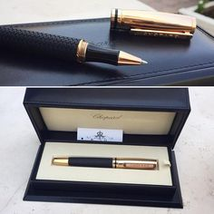 Chopard Black Rubber / Rose gold plated Brescia Rollerball Pen  Condition: new , box included  AED 2,190  #Bagatelleboutique #bagatellechoppard #chopard #chopardpen #pen #luxury #style #office #preowned #authentic #musthave #luxurylife #writingcandy Folow @fashionbookface   Folow @salevenue   Folow @iphonealiexpress   ________________________________  @channingtatum @voguemagazine @shawnmendes @laudyacynthiabella @elliegoulding @britneyspears @victoriabeckham @amberrose @raffinagita1717…