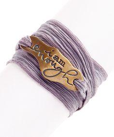 Nice bracelet.