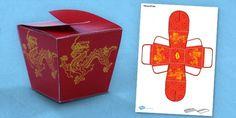 Chinese Gift Box  - twinkl