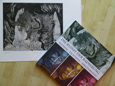 """Der Druck """"Das Elefantenbaby"""" von Susanne Haun"""
