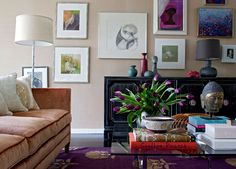 decorology: Happy New Year! Some gorgeous spaces to inspire a home cleanse... gallery wall