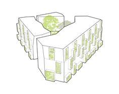 Durham & Gloucester Court - Alison Brooks Architects