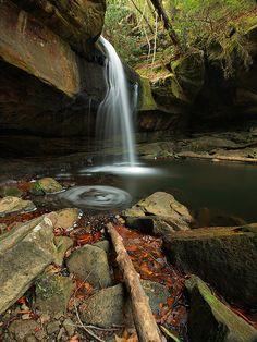 Dog Slaughter Falls, Dog Slauter Creek, Dainel Boone National Forest, Kentucky