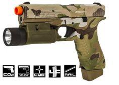 APS ACP Action Combat Pistol CO2 Airsoft Gun ( Multicam )