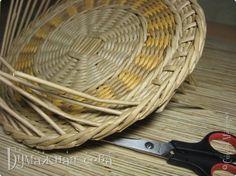 Поделка изделие Плетение Снова шкатулка Трубочки бумажные фото 9