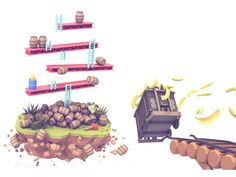 Twitch 2014 Retrospective (Illustrations) on Behance