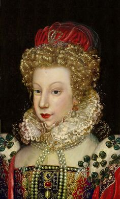 marguerite de valois reine de france kkn. (appears to be an actual, unflattering likeness, see cunda)