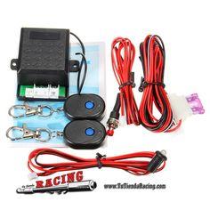 Sistema de Alarma Universal para Coche Camión Fácil Instalación 12V-24V -- 13,58€