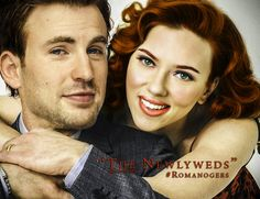 """vbprodz: """" Romanogers AU He looks at the view outside the balcony. The sun is going down and the thoughts get deeper while he feels two arms circle him from behind. Steve relaxes under Natasha's touch and looking at the sky, he says: """"You know Nat…. Funny Marvel Memes, Marvel Jokes, Marvel Heroes, Marvel Dc, Marvel Comics, Best Avenger, Marvel Couples, Romanogers, Black Widow"""