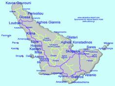 Η ΔΙΑΔΡΟΜΗ ®: ΣΚΟΠΕΛΟΣ- SKOPELOS Greece, Map, Island, History, Greece Country, Maps, Historia, Islands