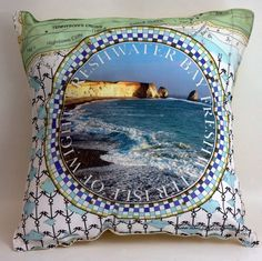 This great cushion we printed was designed by Judy Brachi of Isle of Wight Cushions.