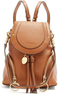 54887682a59 SEE BY CHLOÉ Olga leather backpack Mini Backpack, Leather Backpack, Backpack  Bags, See
