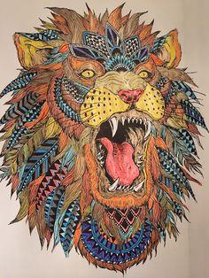 #coloring #Lions #bigcats #art