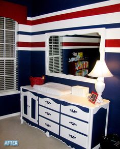 Oh wow. If we could do this.. but we don't have a nursery. Sorry, baby. Sleeping with us.
