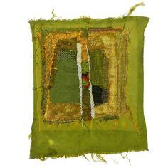 """Annita Romano, """"River"""" Textile, 2014 1"""