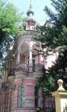 Pink balcony in? ???