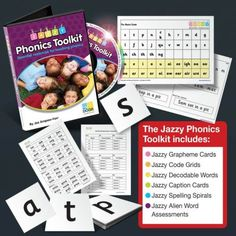 Jazzy Phonics Tookit - an essential toolkit for teaching systematic synthetic phonics
