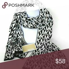 Michael Kors Logo Scarf● NWT ●100%authentic SMOKE FREE/PET FREE CLOSET  Brand New with tags  100%authentic  Get this Michael Kors scarf for your fall/winter warbrobe. Covered in MK logos this scarf can be pair with almost any outfit. Make this scarf a gift for yourself or a loved one.  check out my closet for more MK accessories   Shop with confidence Suggested User Same day shipping 5 star rated closet Top seller Michael Kors Accessories Scarves & Wraps