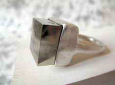 masaoms  MSO Joies | Hadmade Jewellery by Marta Sanchez Oms  | pyrite & silver
