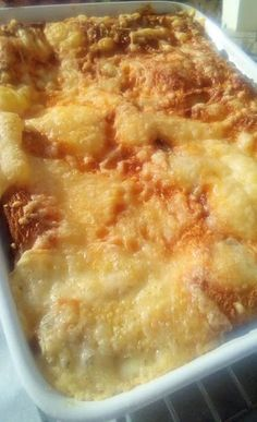 Σουφλέ με φέτες ψωμί του τόστ -και τυρί !!! ~ ΜΑΓΕΙΡΙΚΗ ΚΑΙ ΣΥΝΤΑΓΕΣ 2 Macaroni And Cheese, Recipies, Yummy Food, Cooking, Breakfast, Ethnic Recipes, Tattoos, Recipes, Kitchen