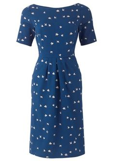 People Tree - Blue Eva Dove Dress #fashiontakesaction #want