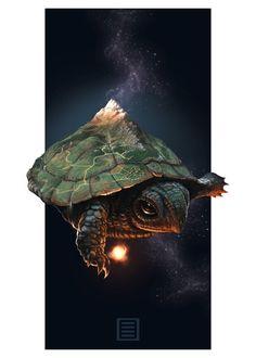 Celestial Turtle by lordFelwynn