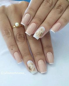 Elegant Nail Designs, Creative Nail Designs, Beautiful Nail Designs, Nail Art Designs, Cute Nail Art, Cute Nails, Pretty Nails, Pink Nails, Glitter Nails