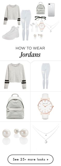 """Read the description "" by joelle0414 on Polyvore featuring Topshop, NIKE and Abbott Lyon"