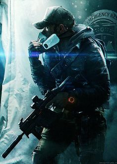 """rahgot: """" The Division agents are trained to operate independently of command, as all else fails. Fighting to prevent the fall of society, the agents will find themselves caught up in an epic. Zombie Rpg, Armor Concept, Concept Art, Ghost Soldiers, Division Games, Rainbow Six Siege Art, Apocalypse Art, Military Drawings, Tom Clancy The Division"""