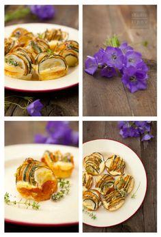 Błyskawiczne wytrawne babeczki z cukinii. | Lawendowy Dom Risotto, Shrimp, Meat, Ethnic Recipes, Food, Essen, Meals, Yemek, Eten