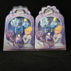 Disney's Cinderella Clips  Two sets $24.95  Perfect for party favors or a gift!