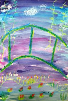 @Amy Staley You have to check out this site! For the Love of Art: 1st graders paint Claude Monet's bridge