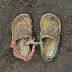 Omar Hafel, 4 anni, maschio. Giorni di cammino: 20