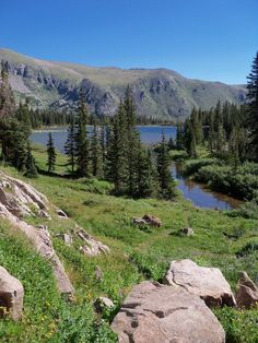 Diamond Lake Trail (5.3 mile trail), near Nederland, CO. Rated as moderate.