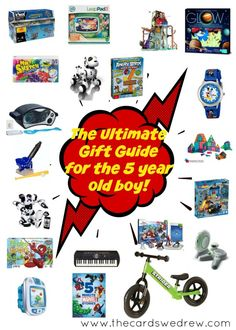 The Ultimate Gift Guide For 5 Year Old Boy