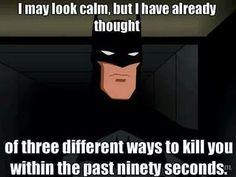 Batman /me: