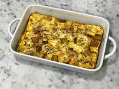 Kitchen Cactus: Breakfast Egg Casserole with Croutons