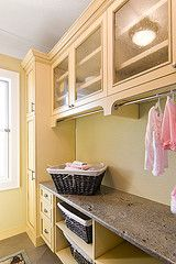 Clothes Hanging rod under cabinets