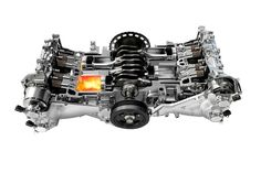 SUBARU BOXER Engine. simplicity, symmetry, balance, low center of gravity. amazing handling. what's not to love?