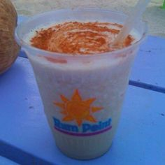 Famous Mudslide, Rum Point Grand Cayman    Frosty, cinnamon on top.. Yum! Click for recipe.