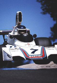 01 ---- 1975 Brabham - Ford ---- 02 --- 03 --- Carlos Reutemann on his way to German GP, Nurburgring victory in August Brabham Ford ------ 04 --- Carlos Pace, Brabham Montjuic,. F1 Racing, Racing Team, Road Racing, Audi, Bmw, Ferrari, Le Mans, Auto F1, Bugatti