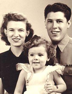 President Barack Obama's mother as a little girl