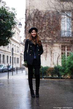 Love the look.  From Alma Jodorowsky's old blog.