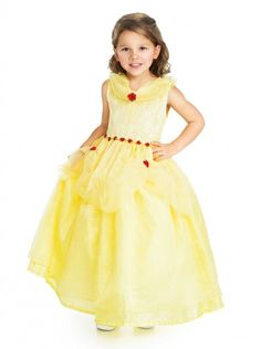 Finally, a gown worthy of such a beauty. Sparkly organza overlay, highlighted with red roses, drapes over a yellow china silk underskirt. The collar is trimmed with shimmery organza and the waist is a